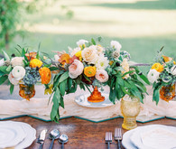 Summer wedding florals