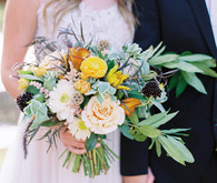 Summer bridal bouquet