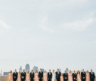 Kansas City wedding party portrait