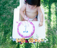 boho california backyard first birthday