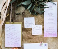 Ombre invitation suite