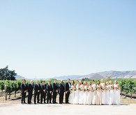 Bibble Ranch Vineyard wedding portrait