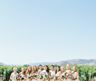 Bibble Ranch Vineyard bridesmaid portrait