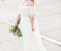 Daughters of Simone wedding gown