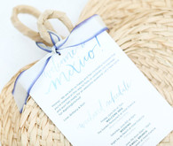 Summer wedding invitation