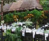 Summer wedding tables cape