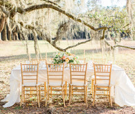 Outdoor wedding tables cape