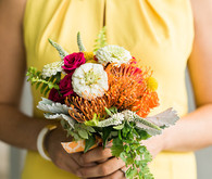 Summer bridesmaid bouquet