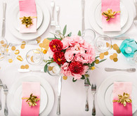 Whimsical tablescape
