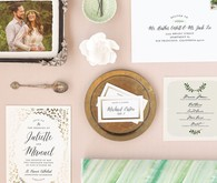 Minted wedding suite