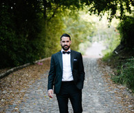 Black tie groom