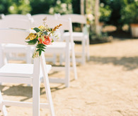 Ceremony floral decor