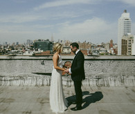 New York City wedding portrait