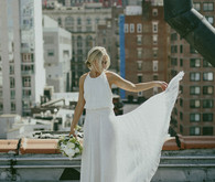 New York City bridal portrait