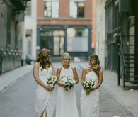 New York City bridesmaid portrait