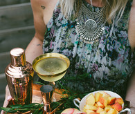 Bohemian summer dinner party