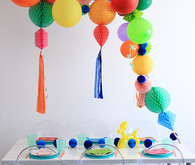 bright modern birthday ideas