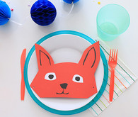 animal place setting