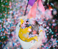 first birthday confetti piñata
