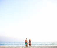 beach maternity photos in LA