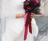 Deep red bouquet