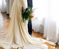 Carrol Hannanh wedding dress