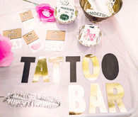 tattoo bar for birthday party