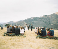 Figueroa Farmhouse wedding ceremony