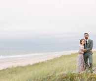 Hamptons wedding portrait
