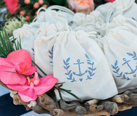 Nautical wedding favors