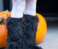 Furry boots costume