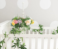 floral decorated nursery