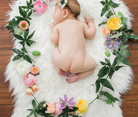 floral newborn photos