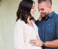 simple modern maternity photos