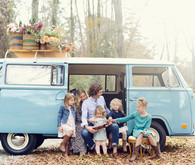 VW Bus family photos
