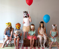 kids with masks