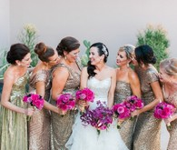 Bridesmaids portrait