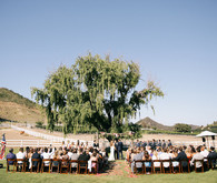 Saddle Rock Ranch wedding ceremony