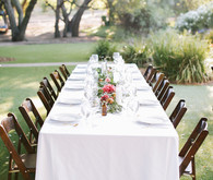 Saddle Rock Ranch wedding tablescape