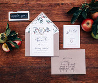 Fall invitation suite