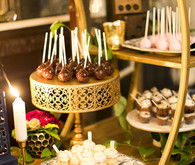 Wedding dessert display