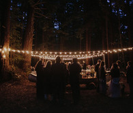 Camp themed wedding