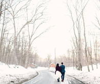 Cozy winter wedding inspirations