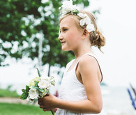 Flower girl portrait