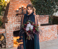 Bohemian halloween wedding inspiration