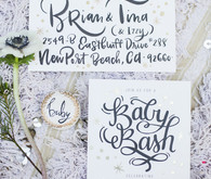 handwritten invites