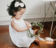 white feminine 1st birthday