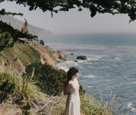 Big Sur bridal portrait