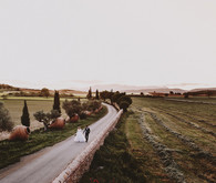 Romantic Spanish countryside portrait