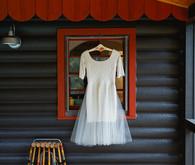 Cleo & Clementine wedding dress